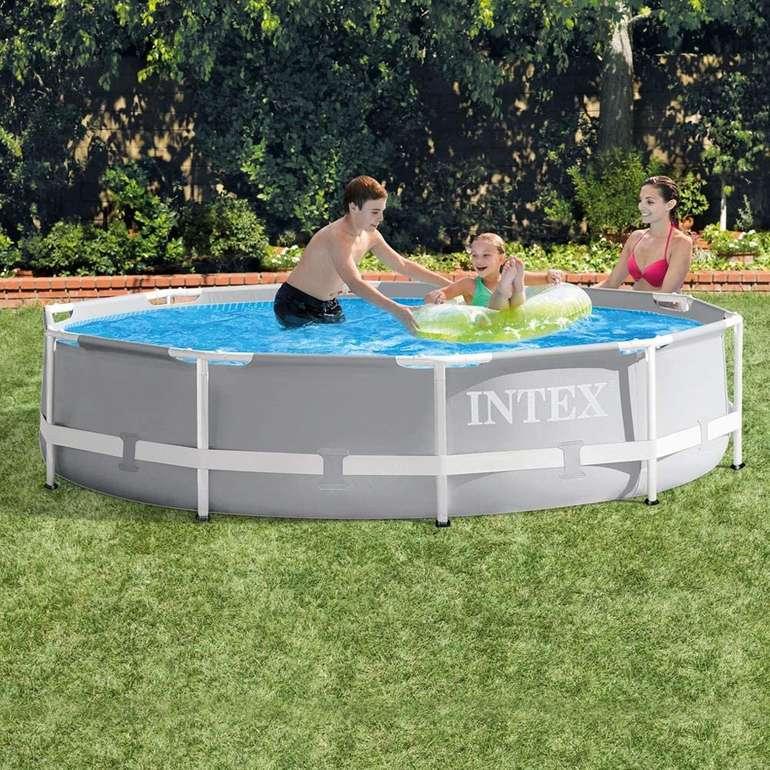 Intex Prism Rondo Frame Pool Set (305 x 76 cm) für 66,89€ inkl. Versand (statt 85€)