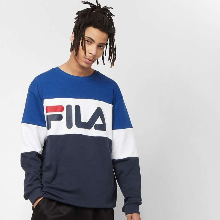 Fila Straight Blocked Crew Sweatshirt für 33,99€ inkl. Versand (statt 47€)