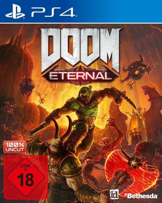 Doom: Eternal (PS4, Xbox One, PC) inkl. Next-Gen-Upgrade für 11,99€ bei Abholung (statt 23€)