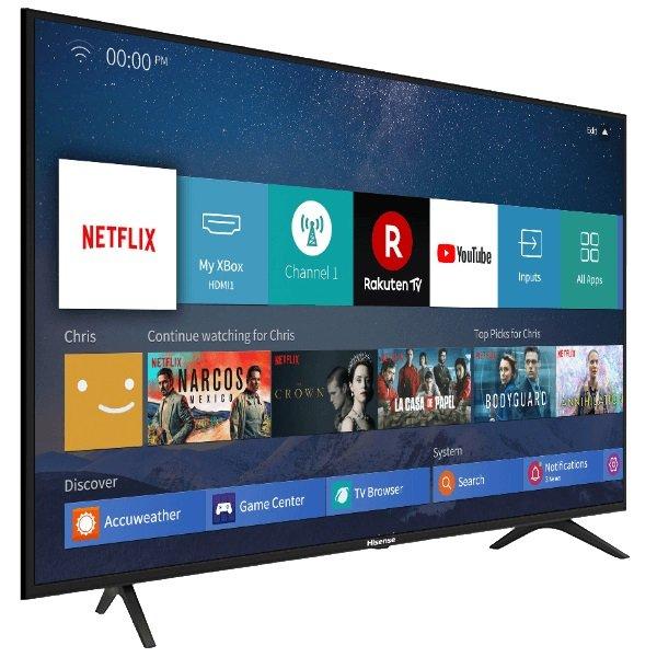 "Hisense H43B7100 - 43"" LED TV (UHD 4K, A+) für 224,49€ inkl. Versand"