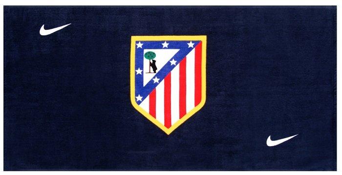 Nike Atletico Madrid oder FC Valencia Handtuch 100x50cm für 3,33€ + VSK