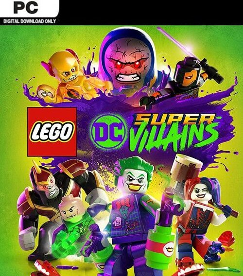 Lego DC Super-Villains (Steam, PC) für 7,99€ (Download Code)