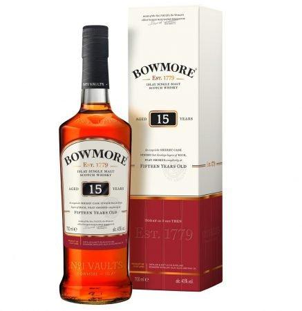 Bowmore Islay Single Malt Scotch Whisky 15 Jahre für 38,81€ inkl. Versand