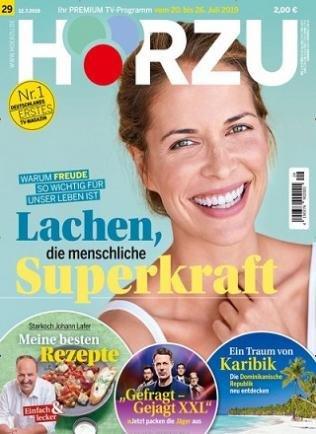 1 Jahr Hörzu TV-Zeitschrift für 114,60€ + z.B. 95€ Otto oder Zalando Gutschein!