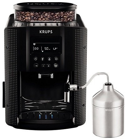 Krups EA 816 RS Kaffeevollautomat für 269€ inkl. VSK (statt 330€)