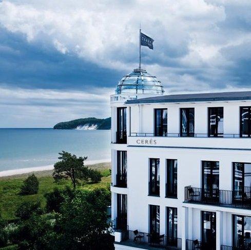 Rügen: 2 ÜN im top 5* Hotel Cerês am Meer in Binz mit Frühstück & SENSO SPA ab 142,80€ p.P.