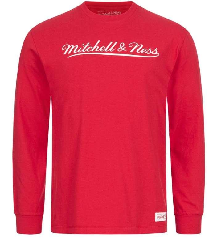 Mitchell & Ness Sale bei SportSpar - z.B. Script Herren Langarm Shirt für 14,99€ (statt 45€)