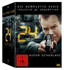 Media Markt mit Serien Komplettboxen im Angebot - z.B. 24 Complete Box DVD 47€
