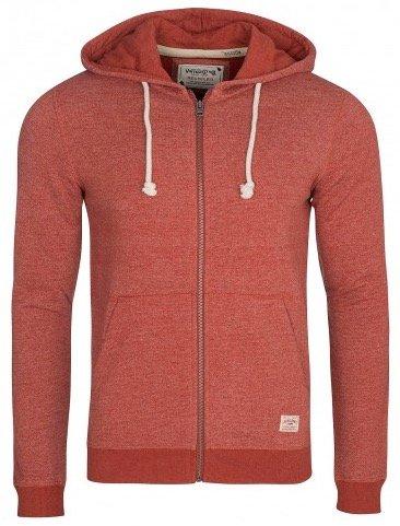 Jack & Jones Sweat-Jacke für Herren in der Farbe Rot nur 17,99€ mit Versand