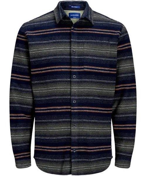 Jack & Jones Hemd 'CHILL' in navy/mischfarben für 13,95€ inkl. Versand (statt 31€)