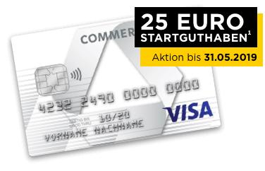 Commerzbank Karte.Commerzbank Prepaid Kreditkarte 25 Startguthaben Nur Im 1