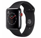 Apple Watch Series 3 (GPS + LTE) 42mm Edelstahlgehäuse + Sportarmband für 349€