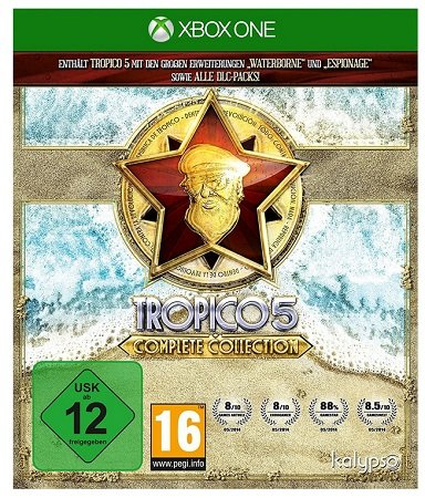 Tropico 5 Complete Collection (Xbox One) für ~14,28€ inkl. VSK (statt 20€)