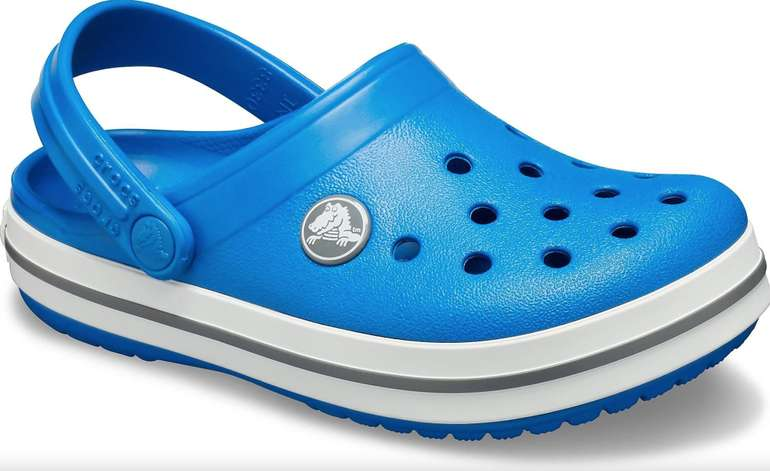 Crocs Crocband Kinder Clog mit kontrastfarbenen Akzenten für 20,94€ inkl. Versand (statt 29€)