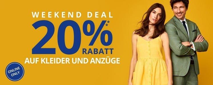 20% Rabatt auf Kleider bei Peek & Cloppenburg