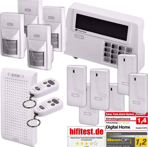 Hama Xavax Funk Alarm Anlage im XXL-Set für 79,99€ inkl. Versand