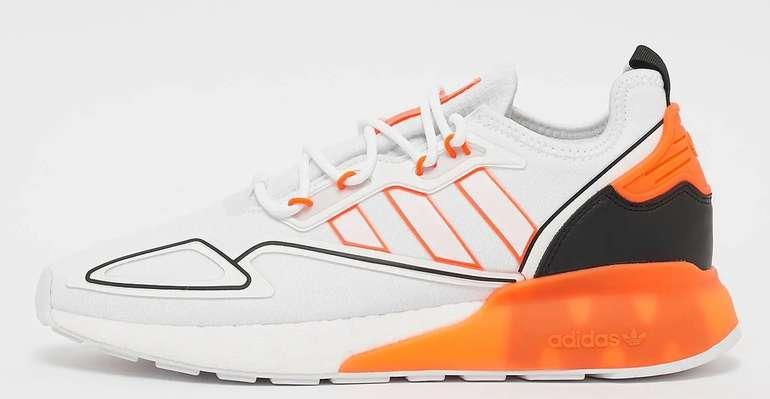 Adidas Originals ZX 2K Boost Sneaker in Orange und Grün ab 51,99€ inkl. Versand (statt 115€)