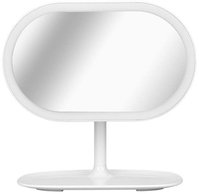 Kranich Kosmetikspiegel mit LED-Beleuchtung & 10x Vergrößerung für 9,99€