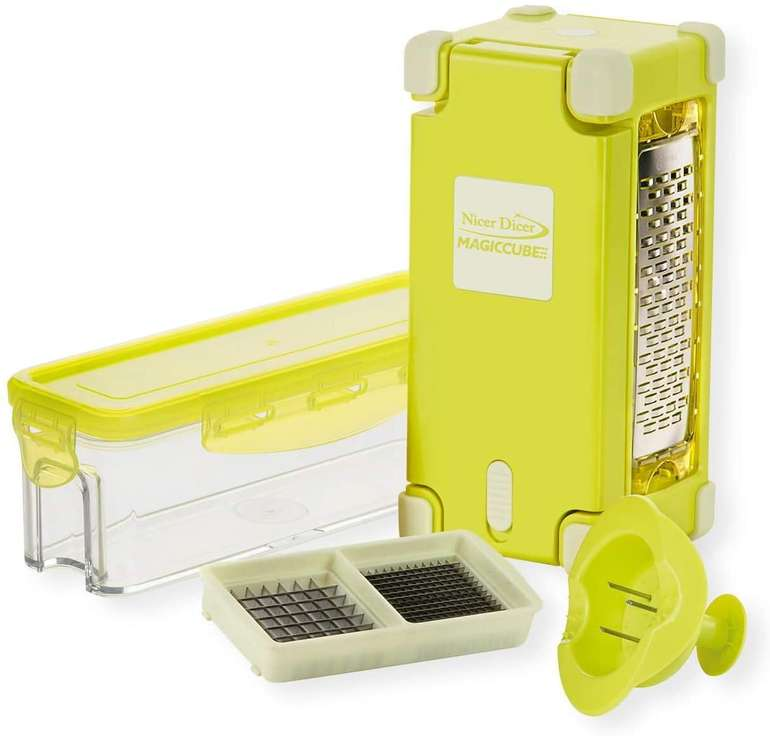 Genius - Nicer Dicer Magic Cube Gourmet 7tlg. Multischneider für 11,90€ inkl. Versand (statt 21€)