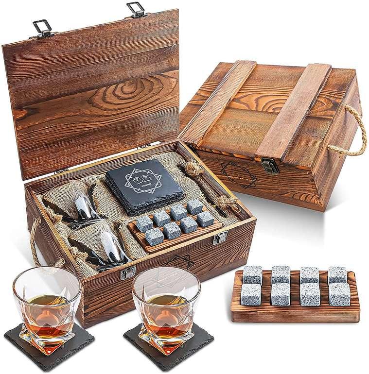 Baban Whisky Stein Set inkl. 2 Gläsern für 16,79€ inkl. Prime Versand (statt 25€)