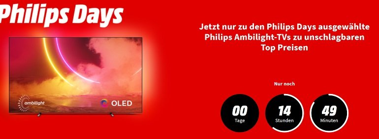 Media Markt Philips Days 2