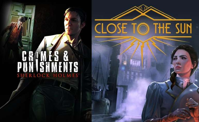 Epic Games Store: Sherlock Holmes - Crimes and Punishments & Close to the Sun kostenlos herunterladen