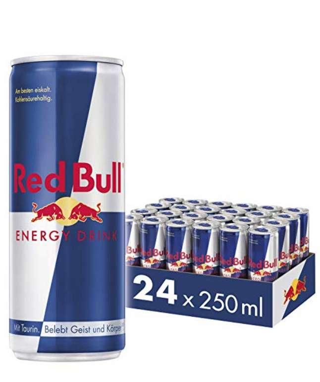 Red Bull (24 Dosen á 250ml) für 20,90€ inkl. Versand