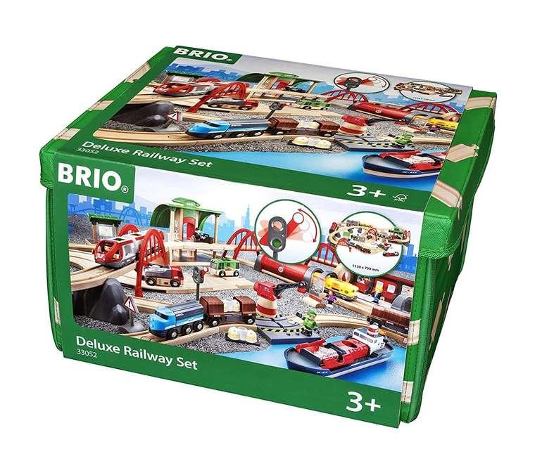 Brio Straßen & Schienen Bahn Set Deluxe Spielset (33052) für 139,99€ inkl. Versand (statt 184€)
