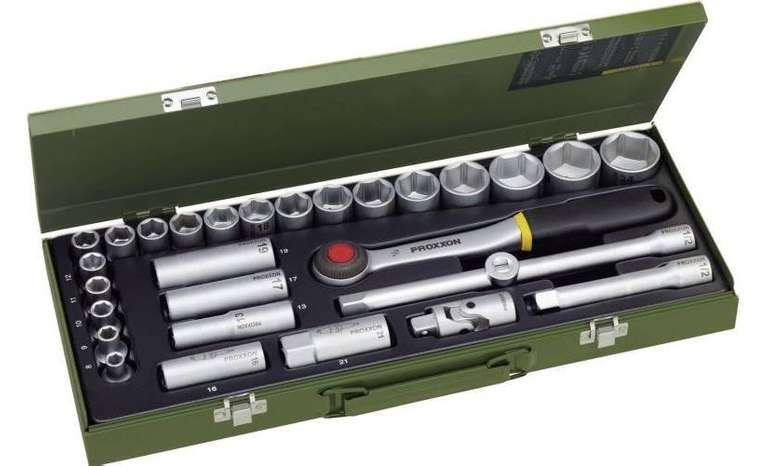"""29-tlg. Proxxon Industrial 1/2-Zoll-Steckschlüsselsatz """"23000"""" für 42,95€"""