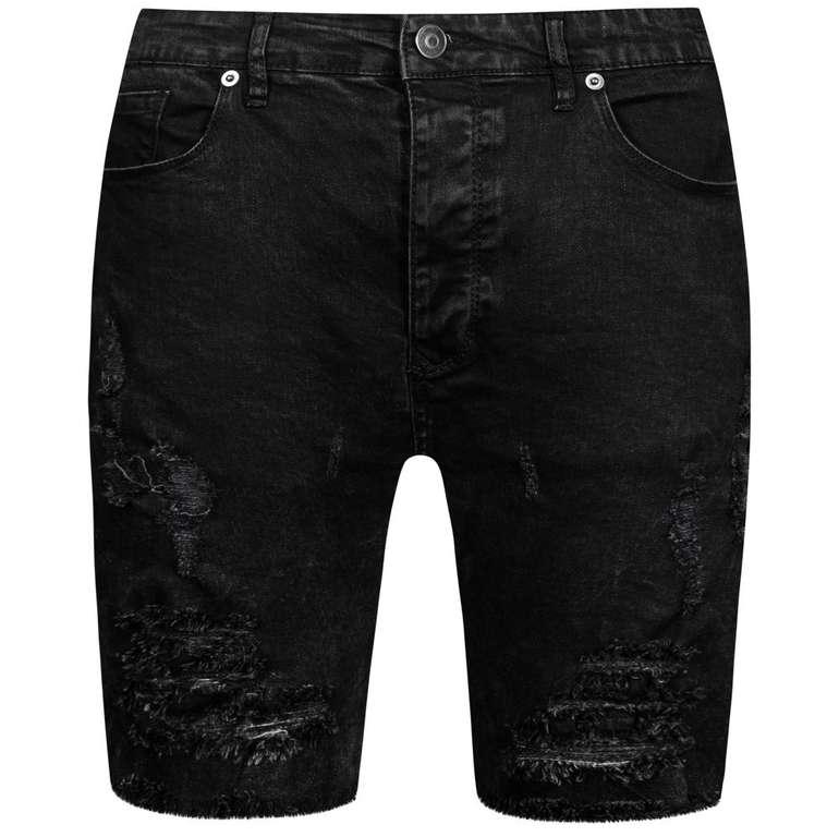Brave Soul Morton Denim Herren Ripped Jeans Shorts für 18,94€ inkl. Versand (statt 25€)