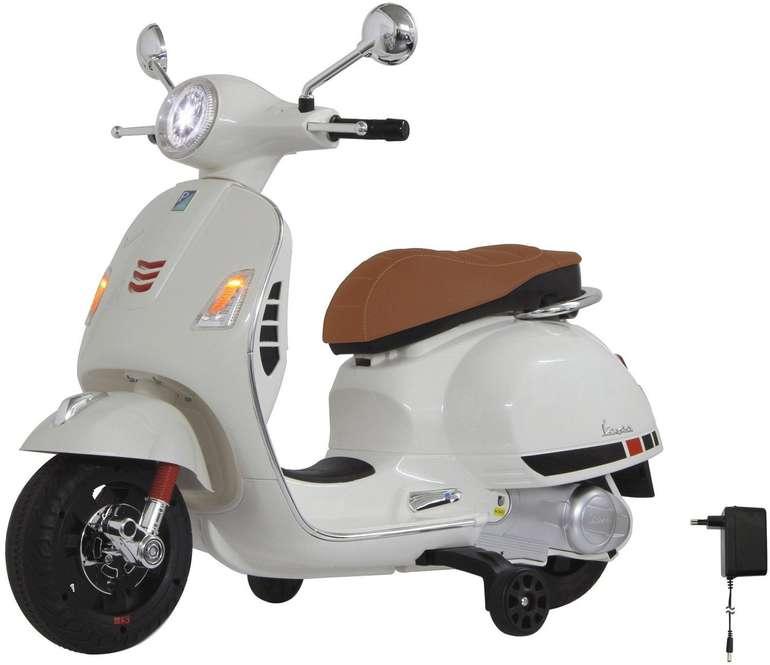 Jamara Ride-on Vespa 12V in weiß für 128,98€ inkl. Versand (statt 143€)