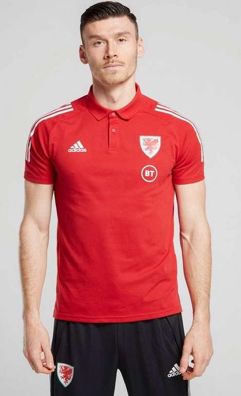 adidas Wales oder Schottland Condivo 20 Poloshirt Herren für 12€ inkl. Versand (statt 22€)