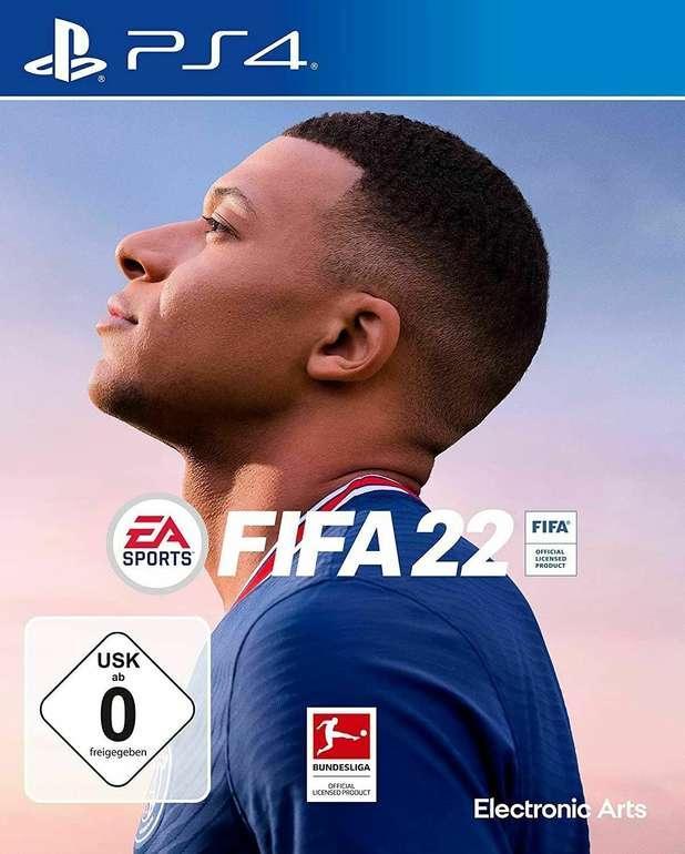 FIFA 22 (PS4) für 55,79€ inkl. Versand (statt 62€) - Vorbestellung!