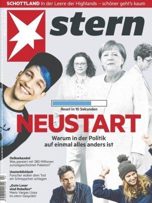 """13 Ausgaben """"Stern"""" für 65€ + 65€ Verrechnungsscheck"""