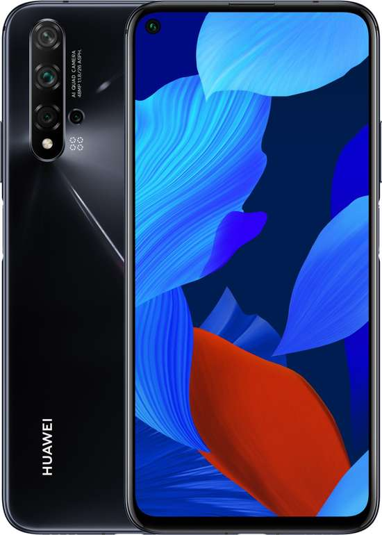 "Huawei Nova 5T - 6,26"" LTE Smartphone (FHD, 6GB RAM, 128 GB Speicher, Dual SIM) für 295€ inkl. Versand"
