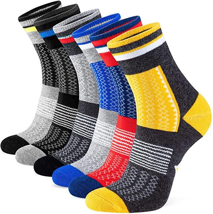 Newdora 6er Pack Unisex Sport Socken für 7,99€ inkl. Prime Versand (statt 13€)