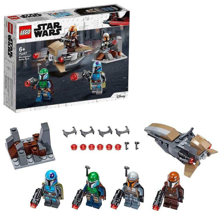 LEGO 75267 Star Wars - Mandalorianer Battle Pack für 12,74€ (statt 17€)