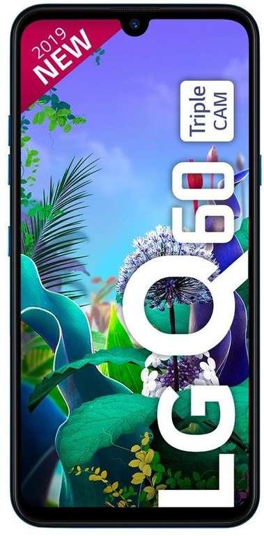 LG Q60 Smartphone (+4,99€) inkl. Crash Vodafone Allnet-Flat mit 4GB LTE für 9,99€ mtl. + 25€ Cashback(!)