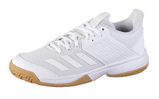 Adidas Ligra Fitnessschuhe für Kinder in weiß für 27,91€ inkl. Versand (statt 40€)