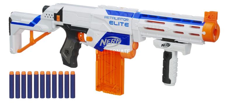 Hasbro Nerf N-Strike Elite Retaliator für 23,48€ inkl. Versand (statt 30€)