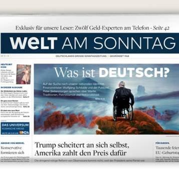 """Jahresabo """"Welt am Sonntag"""" für 239,20€ + 170€ Amazon-Gutschein"""