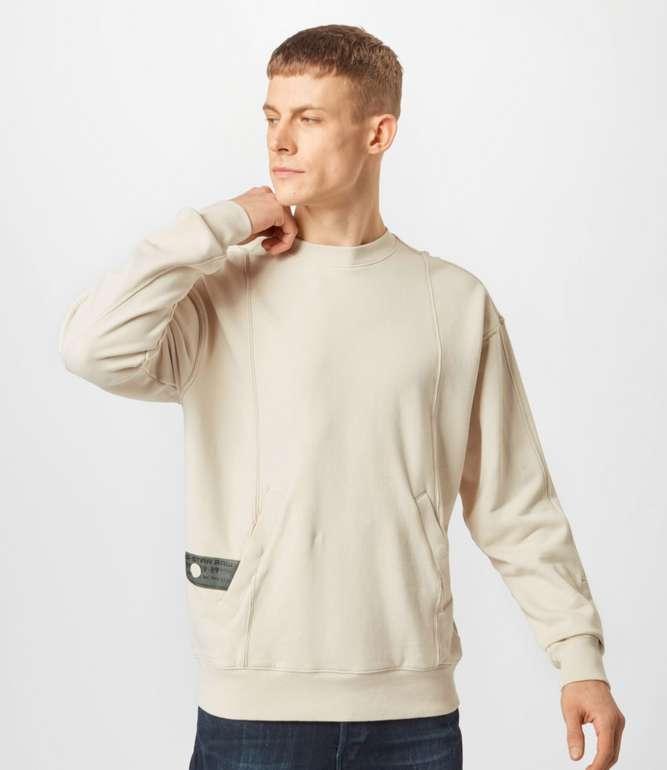 Stark! G-Star RAW Sweatshirt in creme für 24,95€ inkl. Versand (statt 73€)