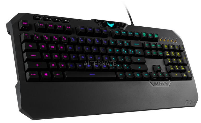 Asus TUF Gaming Tastatur K5 für 59,90€ inkl. Versand (statt 75€) - Paydirekt!