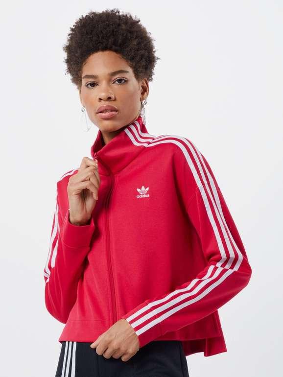 Adidas Originals Damen Jacke 'Tracktop' in pink/weiß für 21,56€ inkl. Versand (statt 35€)