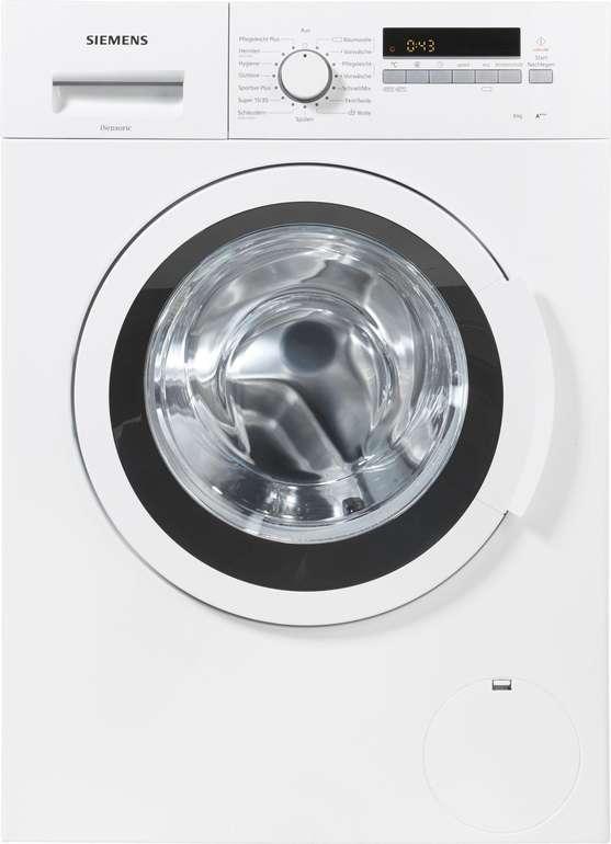 Siemens WM14K2ECO Waschmaschine (8kg, 1.360 U/min) + Bosch TDA 302401 W Dampfbügeleisen für 379€