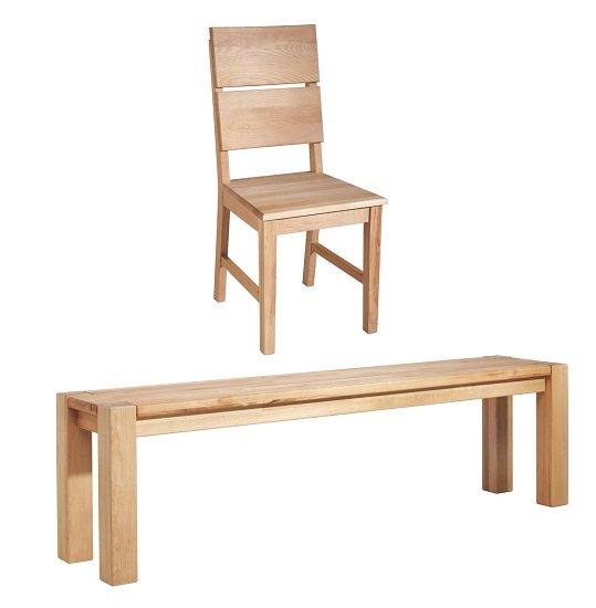 Linea Natura Sitzbank aus Kernbuche ab 99€ zzgl. Versand (Stühle ab 40€)