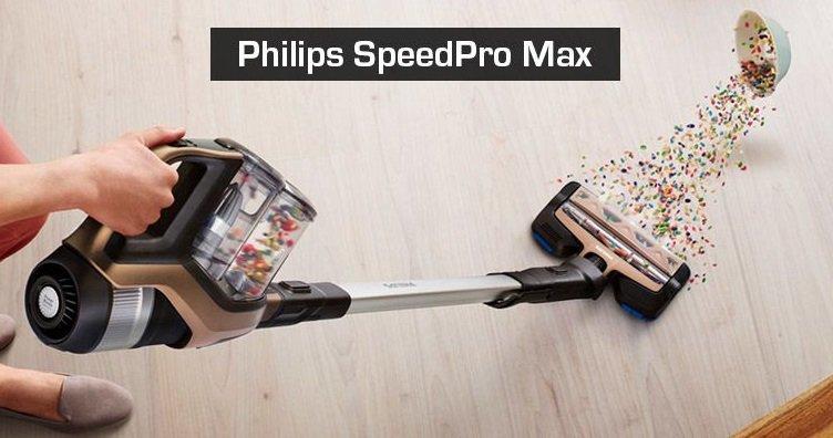 Philips FC6812 01 SpeedPro Max kabelloser 2-in-1 Staubsauger