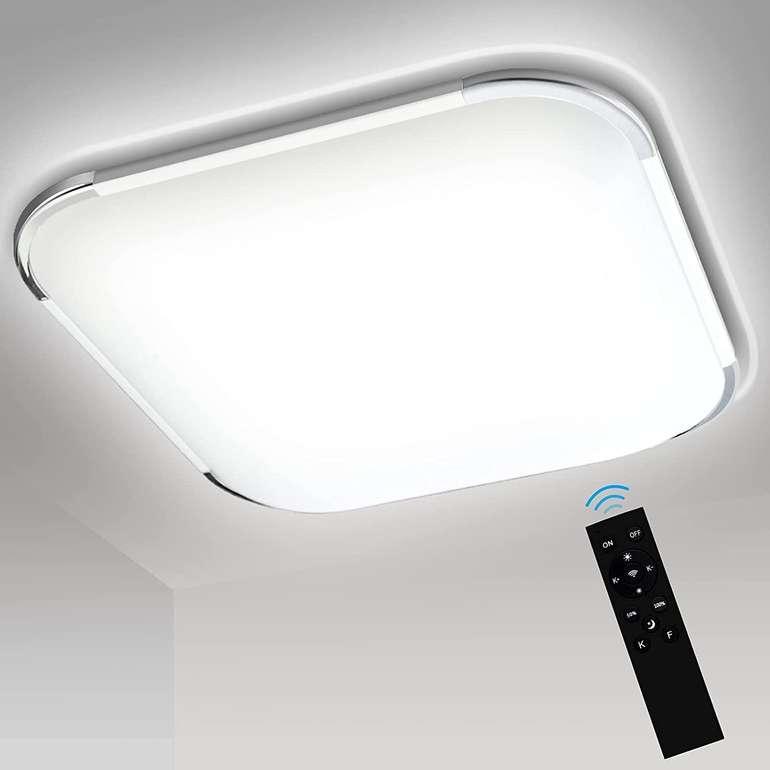 Traminy dimmmbare LED-Deckenleuchten mit Fernbedienung z.B. 12 Watt 2700-6500K für 17,99€ inkl. Versand (statt 30€)