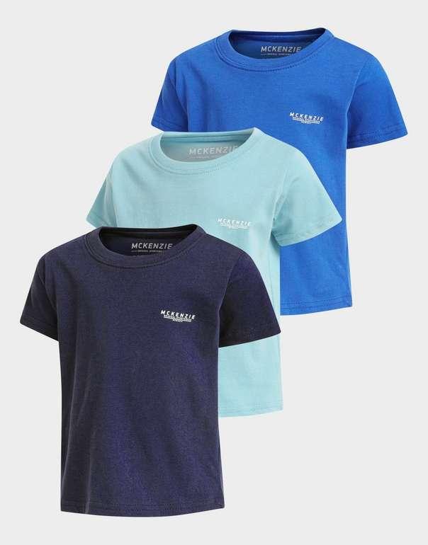 McKenzie Micro Essential 3er-Pack Kinder-T-Shirts in versch. Farbkomb. für 10€ inkl. Versand (statt 30€)