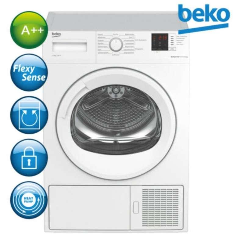 Beko DS8433GX0 - 8kg Wärmepumpentrockner mit A++ für 332,91€ (statt 430€)